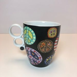 James Rizzi Love & Peace Goebel Mug
